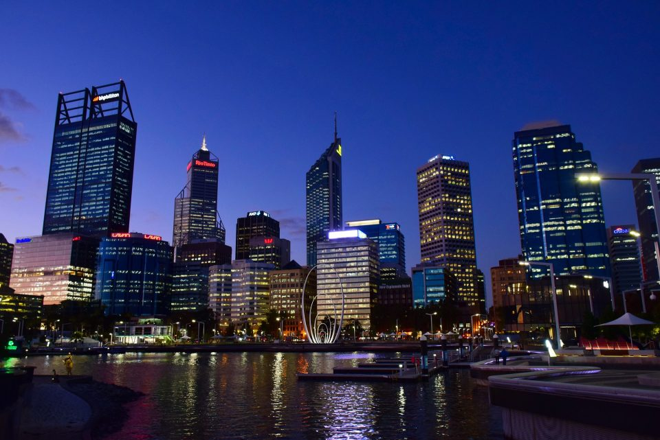 Perth cityscape, Where to stay in Perth, best areas in Perth