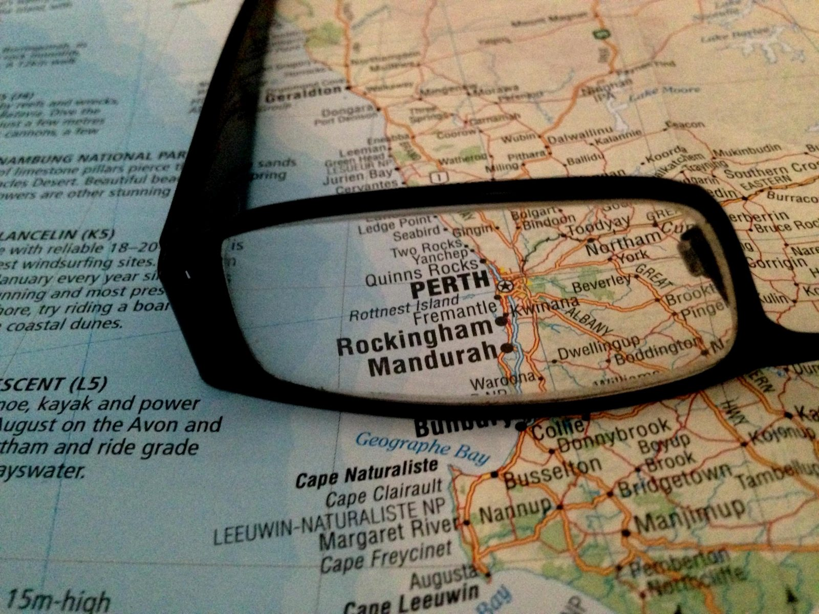 Things to do in Perth, Perth tours, Perth map
